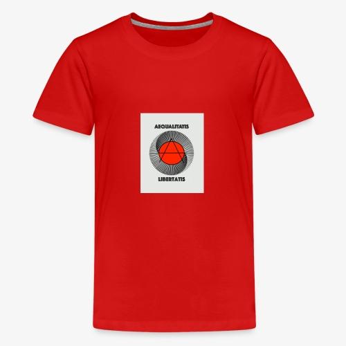 AEQUALITATIS LIBERTATIS - Teenager Premium T-Shirt