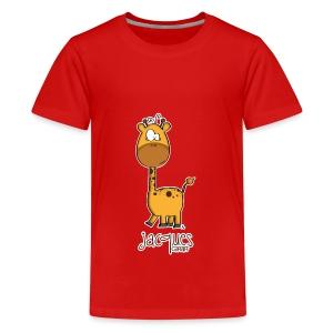 JACQUES Giraff - Teenager Premium T-Shirt
