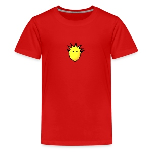 Spikey Lemon logo 2 - Teenage Premium T-Shirt