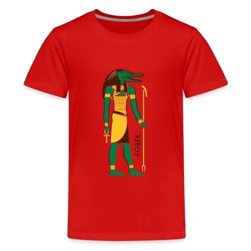 SOBEK God of Egypt - Teenager Premium T-Shirt