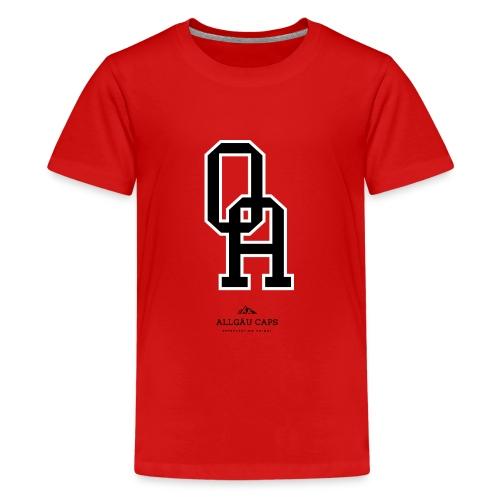 OA mit AC Logo - Teenager Premium T-Shirt