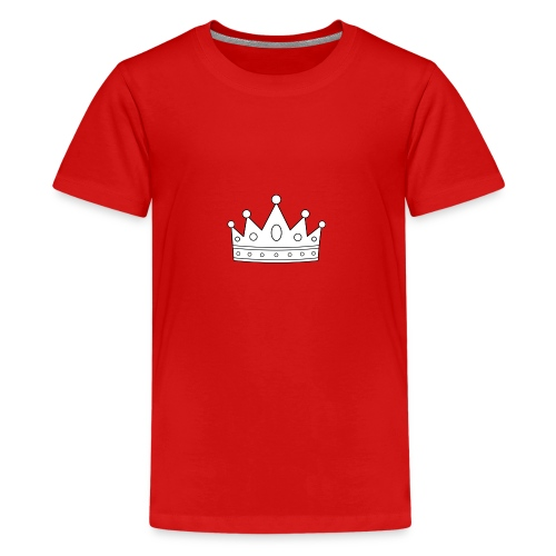 Signature Crown - Teenage Premium T-Shirt