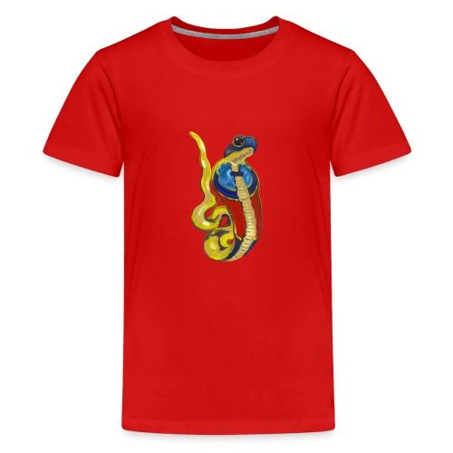 Altägyptische Göttin Wadjet - Teenager Premium T-Shirt