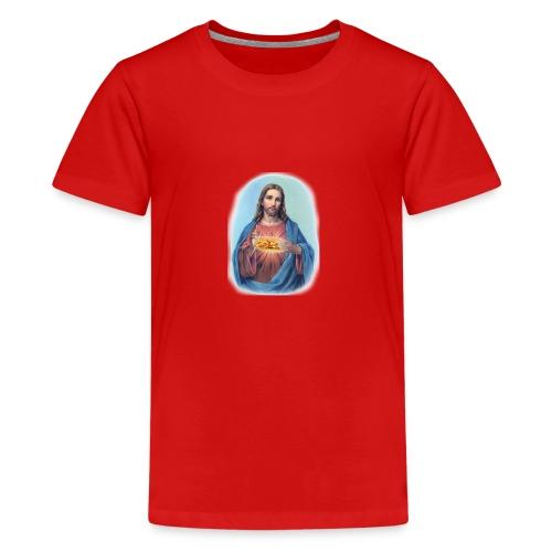 Jésus et le kébab - T-shirt Premium Ado