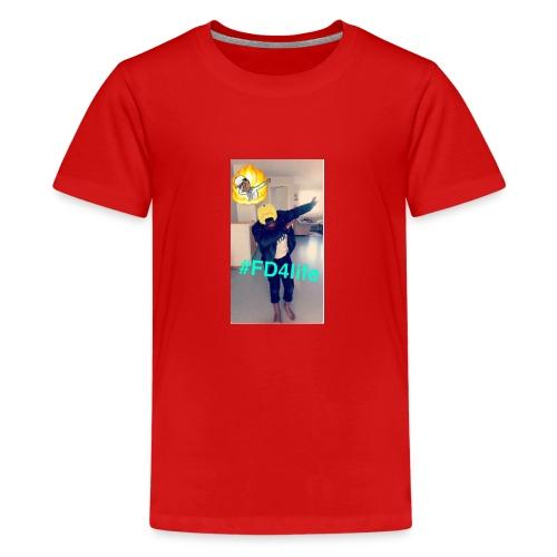 King/Ngoy - Premium T-skjorte for tenåringer