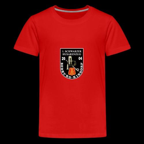 Schwarze Husaren Bedburg Kirdorf 2004 - Teenager Premium T-Shirt