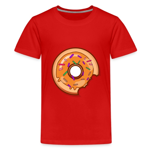 Where is one Part of my Donut? - Teenager Premium T-Shirt