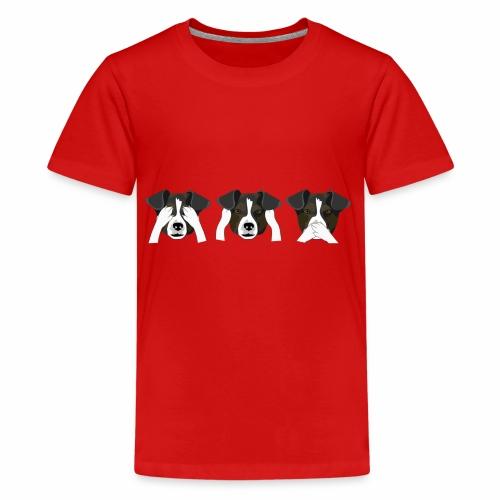 perritos - Camiseta premium adolescente
