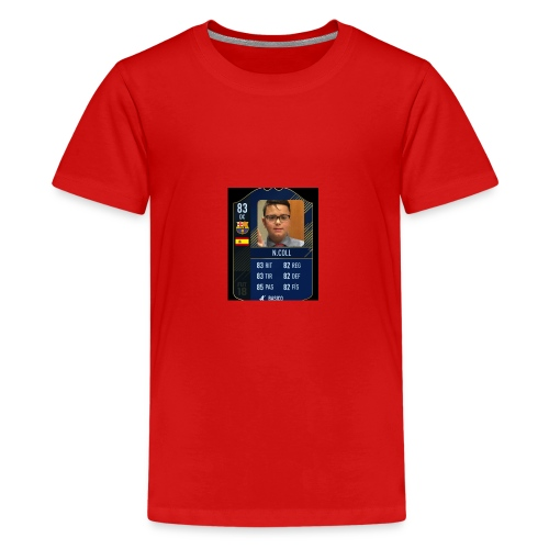 CARTA FUTBOL N.COLL - Camiseta premium adolescente