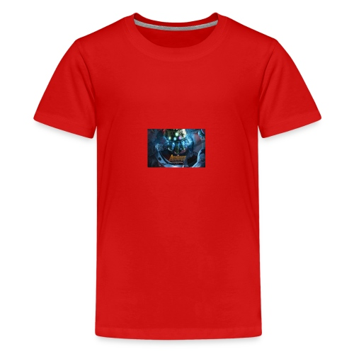infinity war taped t shirt and others - Teenage Premium T-Shirt