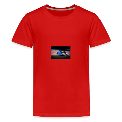 Ter Techs Drifting at Palm Beach International - Premium-T-shirt tonåring