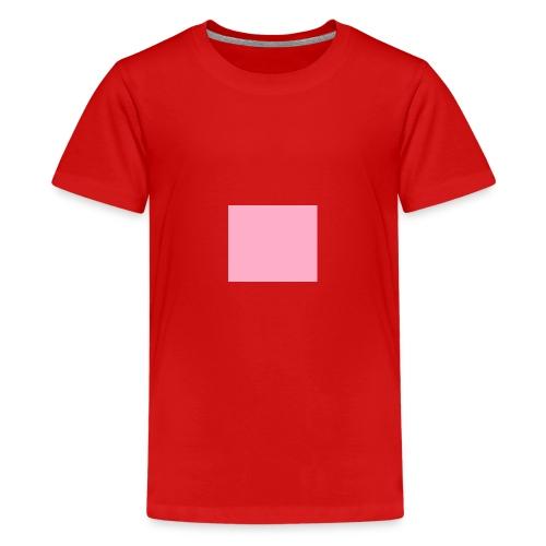 Rosanes Quadrat 1 - Teenager Premium T-Shirt