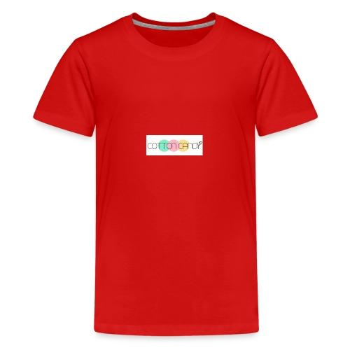 COTTON CANDY LOGO - Teenage Premium T-Shirt