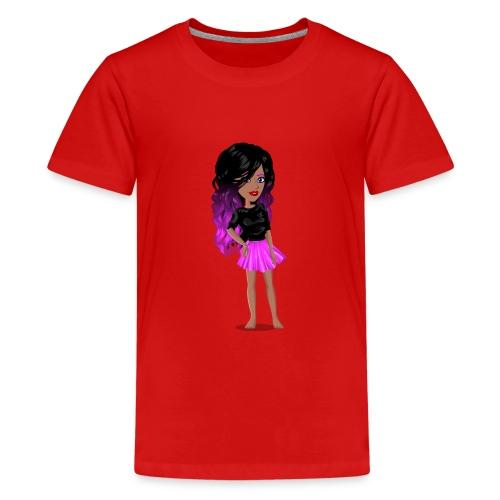 MSP_Min_kj - Premium T-skjorte for tenåringer