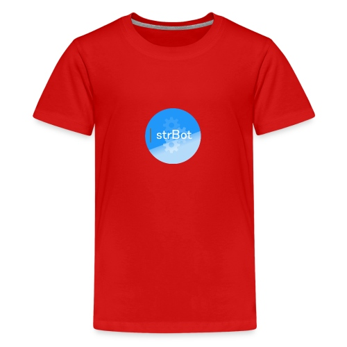 strBot Circle - Teenage Premium T-Shirt