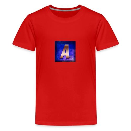 ArveYT Logo Made By Xiler 2 0 - Premium T-skjorte for tenåringer