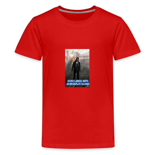 Don't mess with MarcelPlay Games - Teenage Premium T-Shirt