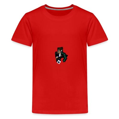 Pils10-Minecraft Style - Teenager Premium T-Shirt