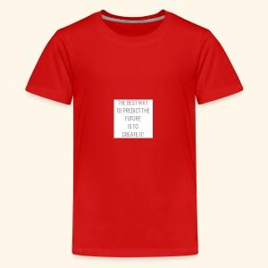 Google Green logo svg - Teenage Premium T-Shirt
