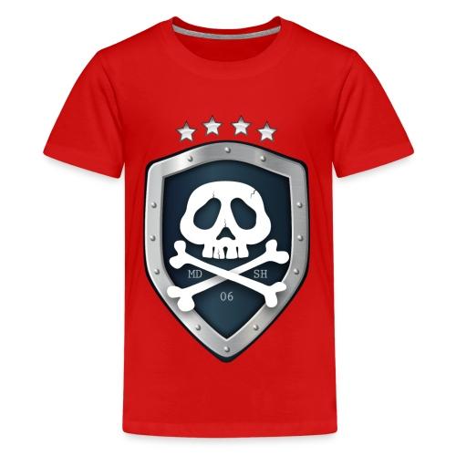 champion's league skull 06 - T-shirt Premium Ado