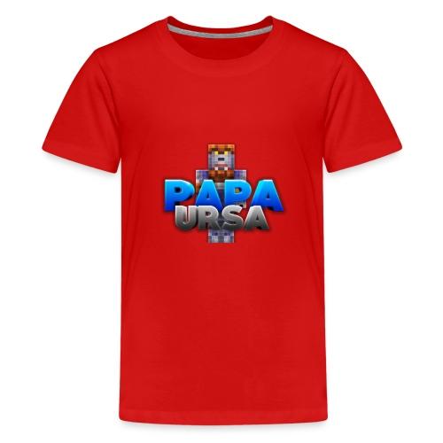 papa ursa - Teenage Premium T-Shirt