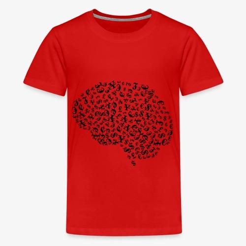 Finanzielle Intelligenz - Teenager Premium T-Shirt