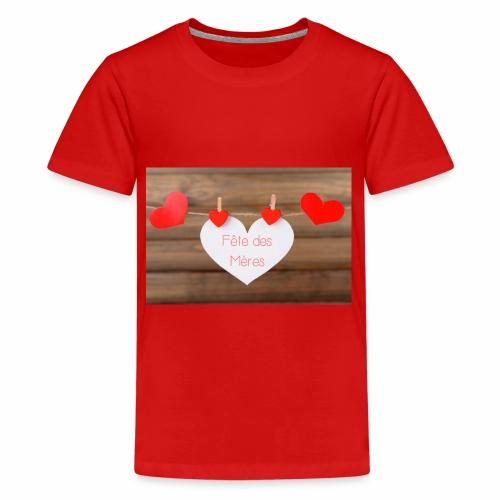 Fête des mères - T-shirt Premium Ado