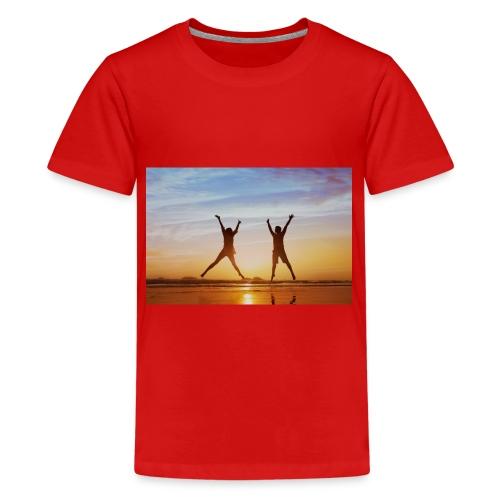 holadays - Teenage Premium T-Shirt