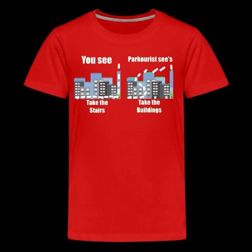 you see - Teenage Premium T-Shirt