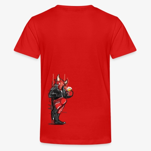 Don't mess with the Bull - Teenager Premium T-Shirt