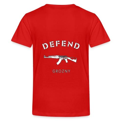 Defend Grozny - Teenager Premium T-Shirt