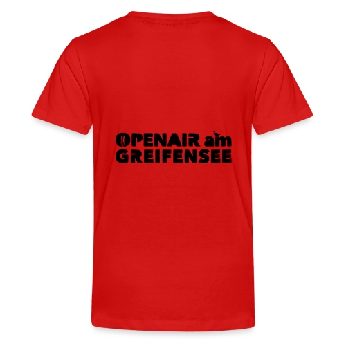Openair am Greifensee 2018 - Teenager Premium T-Shirt