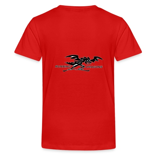 Running Dragons - Teenager Premium T-Shirt