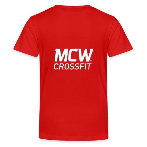 MCW Sportklubb - Premium-T-shirt tonåring