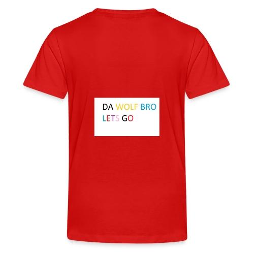 DA WOLFS - Teenage Premium T-Shirt