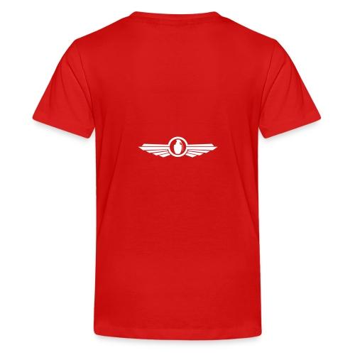Goonfleet wings logo - Teenager Premium T-Shirt