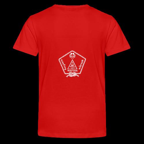 Marsua Wit - Teenager Premium T-shirt