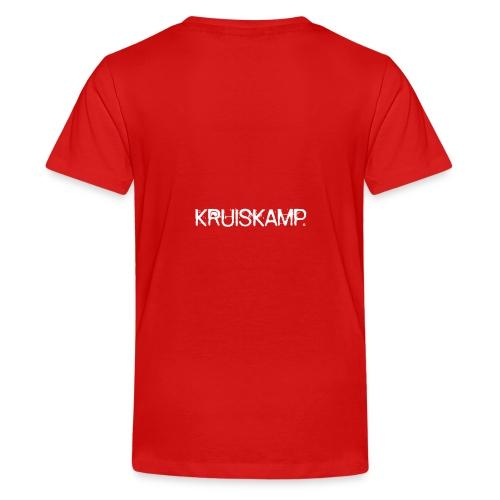 Kruiskamp Punk - Teenager Premium T-shirt
