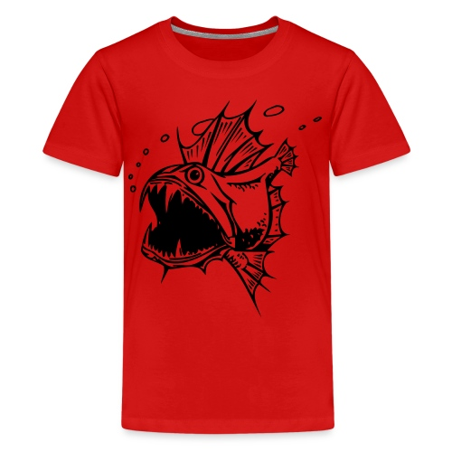 Piranha - Teenager Premium T-Shirt