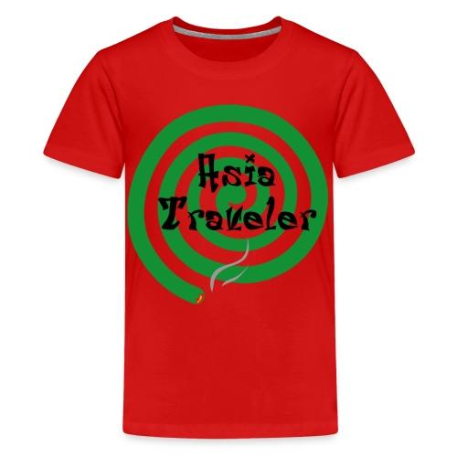 Asia Traveler - Teenage Premium T-Shirt