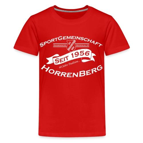 60 Jahre SGH - Teenager Premium T-Shirt