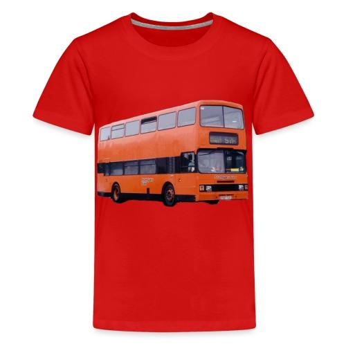 Strathclyde Bus - Teenage Premium T-Shirt