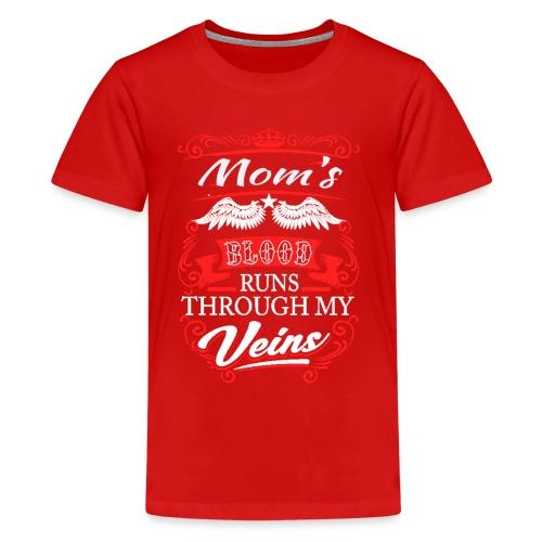 bonne idée pour montrer votre amour à la maman - T-shirt Premium Ado