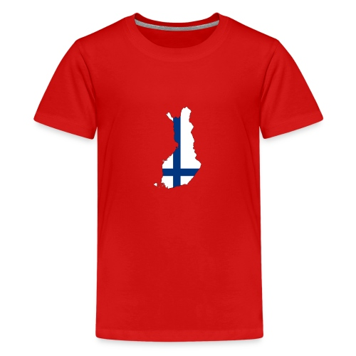 Finnland - Teenager Premium T-Shirt