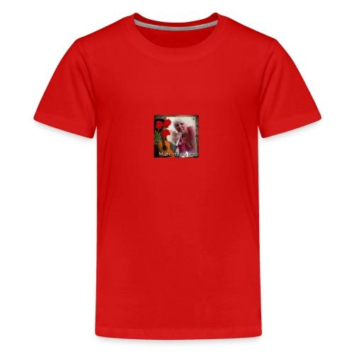 Sängerin Anja Busch - Teenager Premium T-Shirt