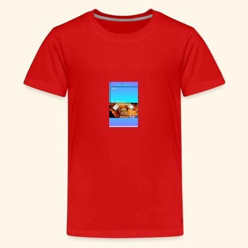 chilling with frileedake1 - Teenage Premium T-Shirt