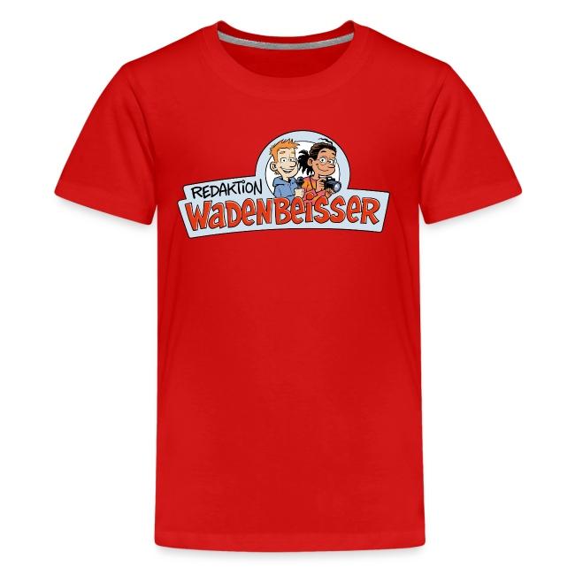 Teenager Premium Langarmshirt Logo