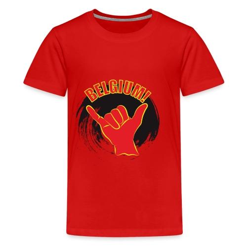 BelgiumLoose - Teenager Premium T-shirt