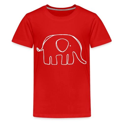 elefant2 - Teenager Premium T-Shirt