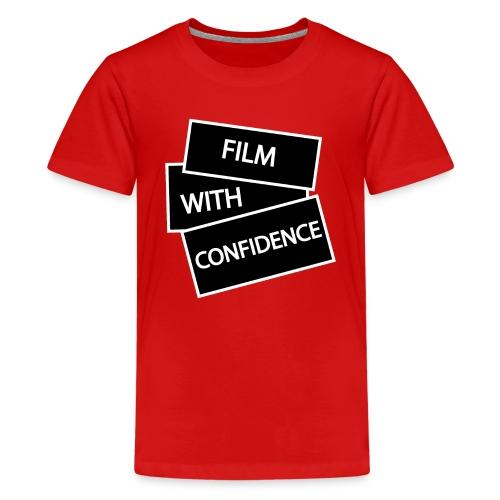 Film with Confidence - Teenage Premium T-Shirt